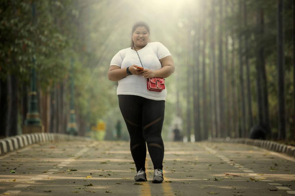 jogging Korean Big Beautiful Women